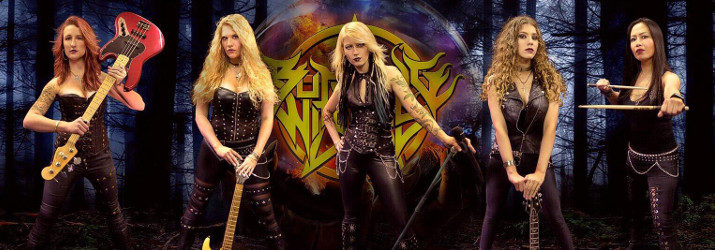 Burning Witches Band Bandfoto heavymetal