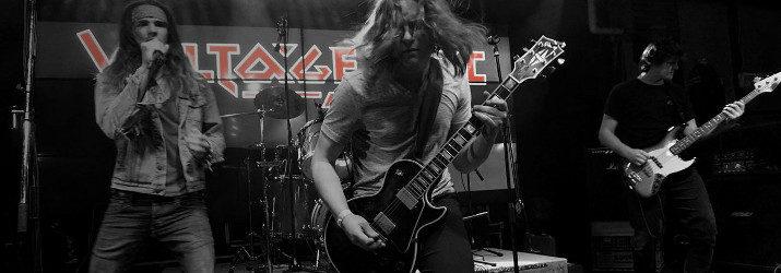 voltage arc band rock metal