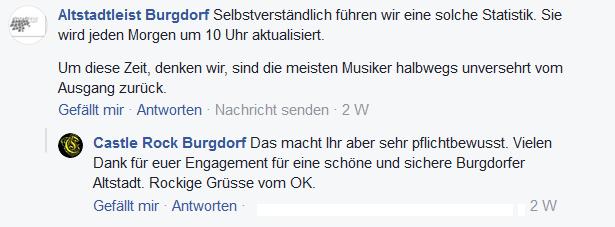Screenshot Facebook: Altstadtleist burgdorf