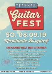 yeahman guitar fest burgdorf 2019