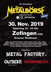22. Metalbörse Schweiz Zofingen